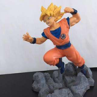 Authentic Goku Figurine Super Saiyan Dragon Ball Z