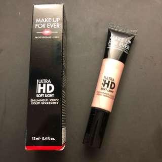 Make up forever ultra hd soft light liquid highlighter