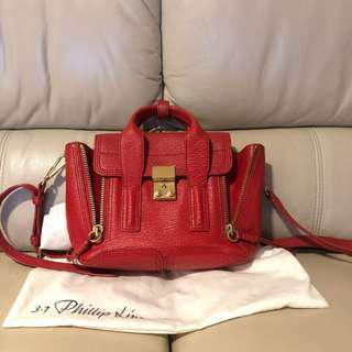 3.1 Philip Lim Pashli mini leather satchel