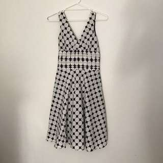 Retro 50s Vintage 1950s Rockabilly Pinup Dress Polkadot