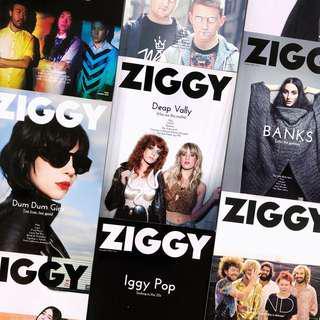 ZIGGY Magazines (Past Issues)
