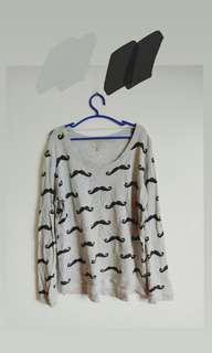 Moustache Zara Sweater