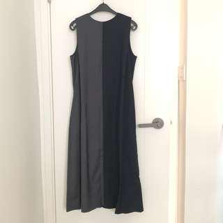 Ray Beams 拼接 雙色 連身裙 Dress