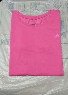 (Size:M)正版Adidas女裝T-Shirt(買完未穿過)