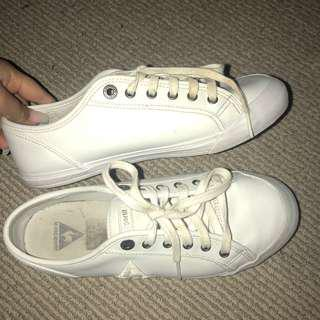 Le Coq Sportif Deauville leather sneakers