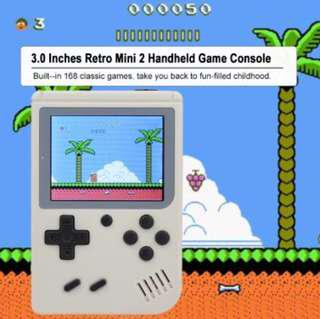 Retro Portable Mini Gameboy with 168 Build In Game