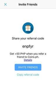 Coins.ph Referral Code