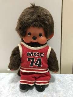 Monchhichi monchichi 籃球造型 公仔