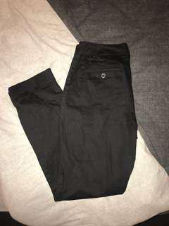 BLACK WORK PANT SLACK