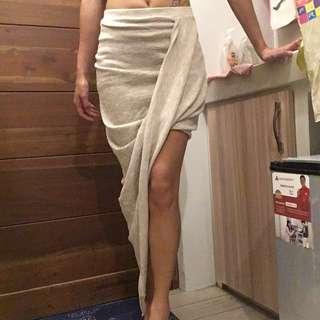 High Low Layered Skirt (Maxi)