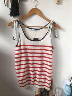 BNWT Sleeveless Mango Stripes