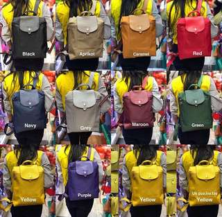 BEST SELLER!!! TERMURAH!!! BACKPACK LONGCHAMP TAS IMPORT WANITA WITH PREMIUM QUALITY. GRAB IT FAST BEFORE SOLD OUT