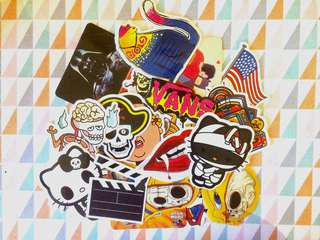 FREE SHIPPING - Assorted Laptop Stickers