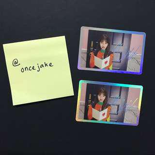 Twic Signal Jihyo Holo Photocard