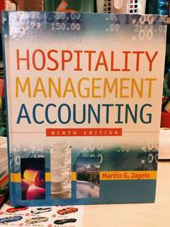 《Hospitality Management Accounting》9th Edition by Martin G. Jagels