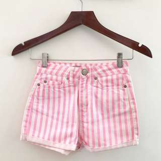 Stripes Hotpants