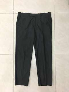 Mens formal work pants mens office pants