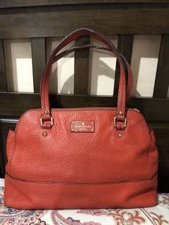 Authentic KateSpade  Red Grove Bag