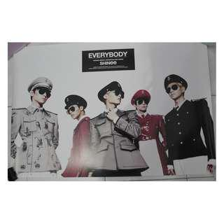 [Official] SHINee Everybody Poster