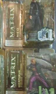 Matrix Neo and Morpheus