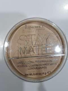 Rimmel Stay Matte Long Lasting Pressed Powder