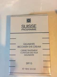 Suisse Programme Gigawhite recovery eye cream