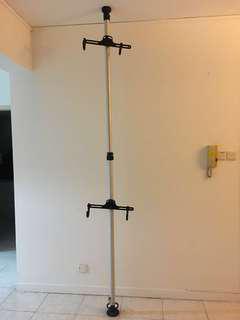 Dual Bicycle Tower Rack