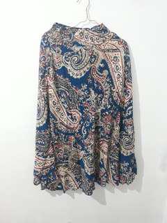 Rok batik panjang muslim