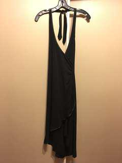 RW&Co Black Hi-Lo Dress