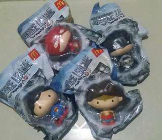 McDo Justice League Pops