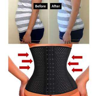 Slim Waist Tummy Girdle Belly Control Waist Cincher Body Shaper Corset Tummy Belly Slimming Body Shape Wear Waist Trainer Slimming Belt Weight Loss Shaping Tummy Waist Belt