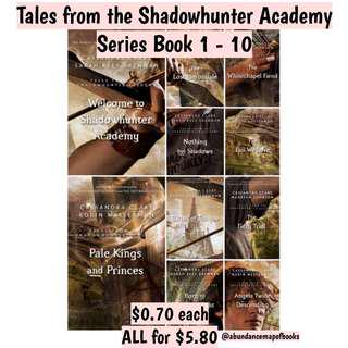 (ebook) Tales from the Shadowhunter Academy Series Book 1 - 10