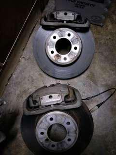 BMW E60 528 (F)  brake set