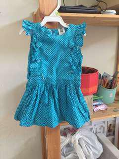 Blue dress little poney