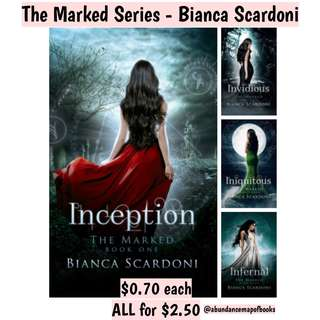 (ebook) The Marked Series by Bianca Scardoni