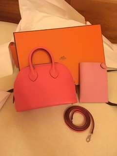 Hermes Bolide mini 唇膏粉紅