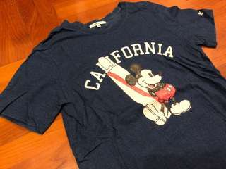 Vintage Mickey Mouse Print TEE T-shirt