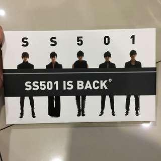 CD ori preloved SS501 Rebirth