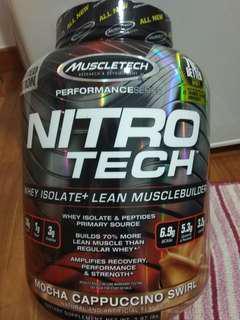 Muscletech Nitro Tech supplement