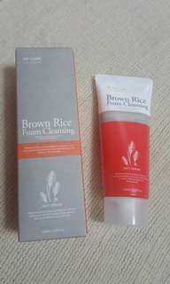 3W Clinic Foam Cleanser - Brown Rice 100ml