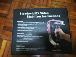 Action cam stabilizer instructions