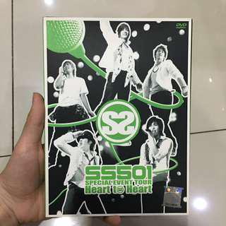 DVD preloved SS501 Heart to Heart special tour
