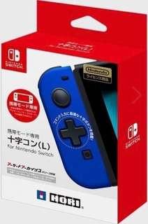 全新 Hori Switch Joy Con 藍色十字掣(L)