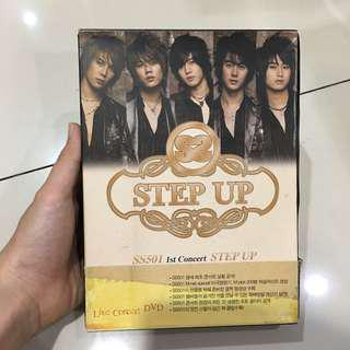 DVD ori preloved SS501 1st concert Step Up