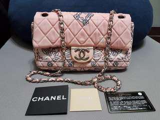 🚚 正品Chanel coco 2.55 包 布面包