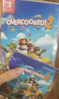 Overcooked 2 switch 全新未開封