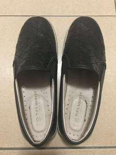 🚚 黑色編織鞋
