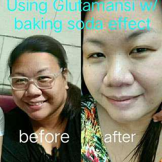 Glutamansi with Baking Soda