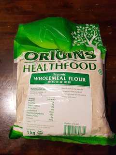 Origins Organic Wholemeal Flour - 1kg