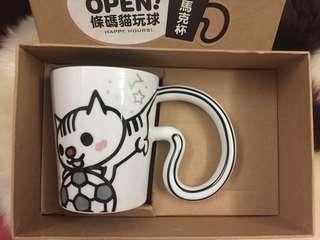 台南夢時代貓杯